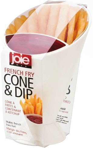 MSC French Fry Cone & Dipping Cup, Set of 4 by MSC B00GIZNBU2   Set of 4