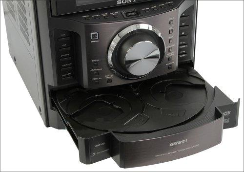 sony mhc gzr333i dvd cd karaoke boombox speaker dock shelf. Black Bedroom Furniture Sets. Home Design Ideas