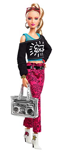 Barbie - Barbie X Keith Haring, Mattel, FXD87, Multicor