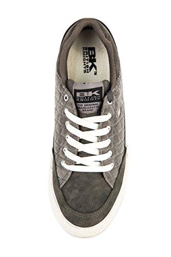 British Knights Herren Pele Sneaker Low Grau Gr. 41