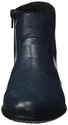 Rieker womens boots navy Navy Zipper L xBxqw4U