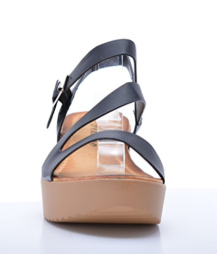 Ss2017 Plataforma Mujer De Sandalia Con x8X11a