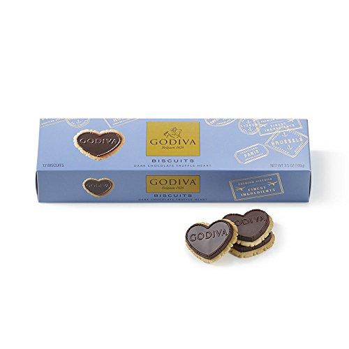 Godiva Chocolate Biscuits (Godiva Chocolatier Dark Chocolate Biscuits)