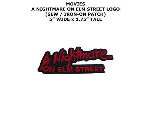 A Nightmare on Elm Street Horror DIY Embroidered Sew or Iron-on Applique Patch Outlander - King Stores Street