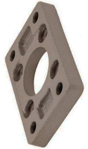 SMC CQ-F100 - Flange Bracket - For use with CQ2 Series Compact Cylinder