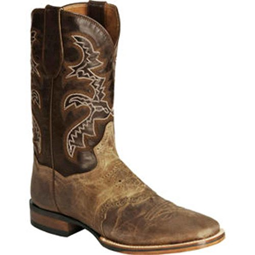 Dan Post Mens 11 Tan / Oranje Ardmore Cowboylaars Gecertificeerd Dp4146 11.5 Ew