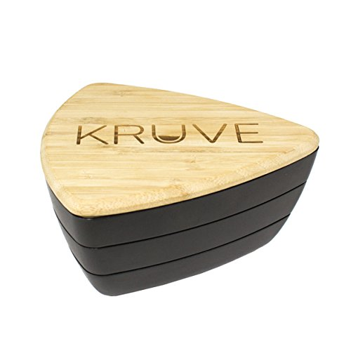 KRUVE Sifter Six Helps Accurately Measure, Calibrate, Refine Coffee Grinds, Great for Cafes, Baristas, Or Home Brewers, 6 Sieves, Black by KRUVE