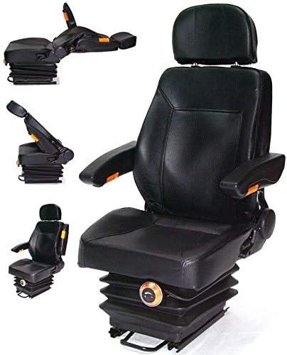 D L Gmbh Traktorsitz Schleppersitz Mit Federung 56007 Armlehne Rückenlehne Treckersitz Kopfstüzte Awz Auto