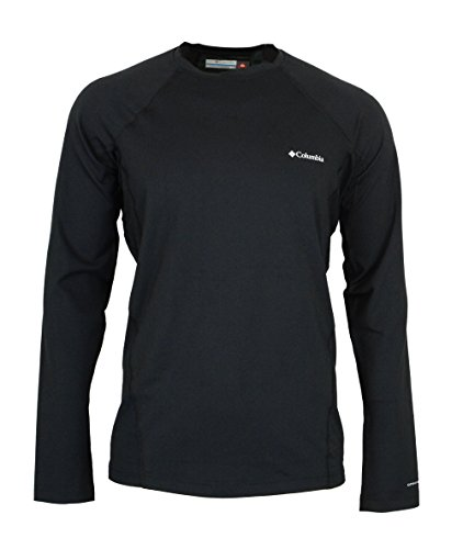 Columbia Omni-Heat Stretch Baselayer Mens Midweight Long Sleeve Shirt (L)