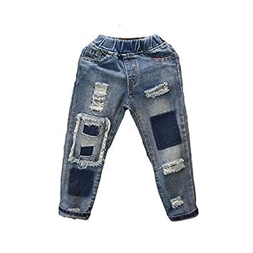 Dans Rapiécé De Pour En Pantalon La Trou Coréenne Garçons Version KTFlJc1