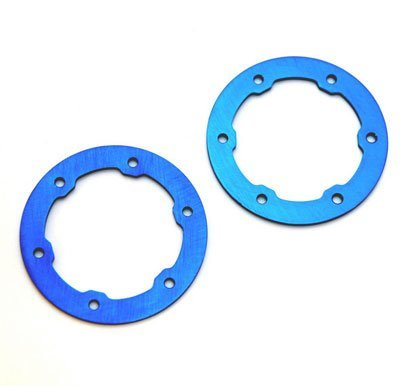 ST Racing Concepts STP6236B Aluminum Light Weight Bead Lock Rings for The Traxxas Pro Slash and Slayer Epic Rims (1 Pair), Royal Blue