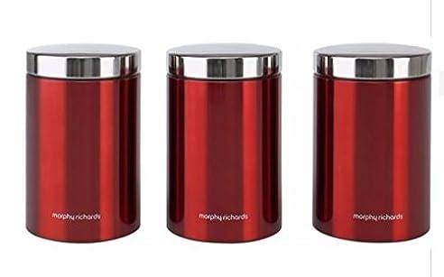 Morphy Richards Accents 3 Teilig Vorratsdose Küche Vorratsdose U0026 Kanister