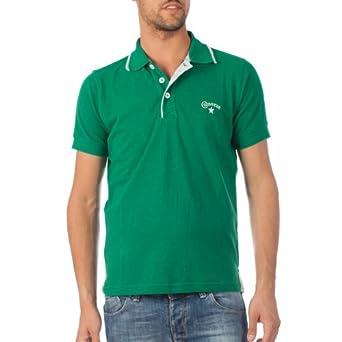 Converse MC Logo Man 2eu313 D Polo para hombre moda verde: Amazon ...