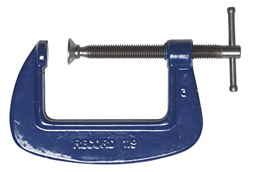 Record Irwin 1192 Medium-Duty Forged G Clamp T1192