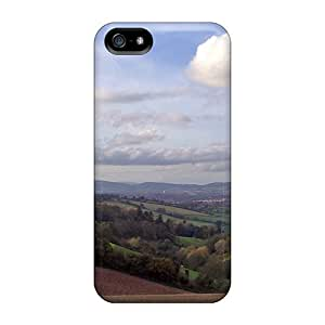 SpaceSubs Haccombe Valley Towards Dartmoor Durable Iphone 5/5s Tpu Flexible Soft Case