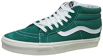 Vans Skate Shoe (Men 7/Women 8.5, Cadmium Green 7295)