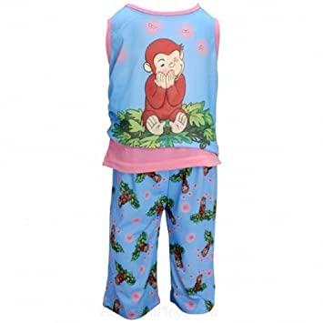 Curious George Girls Pajamas Set Age 4 Years  Amazon.co.uk  Toys   Games a1fc7a79d