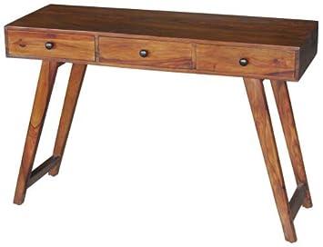 Schreibtisch Beine Holz.Wohnliebhaber Schreibtisch Konsole Anrichte Massiv