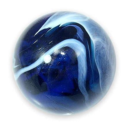 Mega Marble Mammoth 1-5//8 Inch Glass Marble Iguana