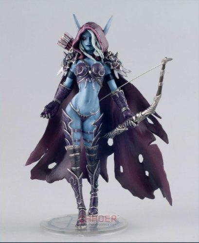 World of Warcraft Sylvanas Wow 14.5cm Figur Windrunner Forsaken Queen Resin Limited