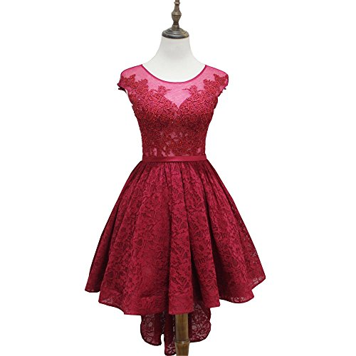 Rot ABWedding Damen Rot Rot A Red Kleid tItdnwqBr
