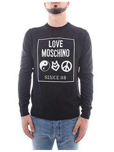 Tricot G12 Moschino 10 S 0046 X Noir Homme Love M qwgw7xU0