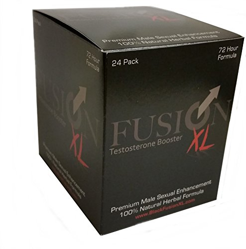 Fusion XL Natural Male Performance Enhancement Supplement (24 Capsules) by FUSION XL