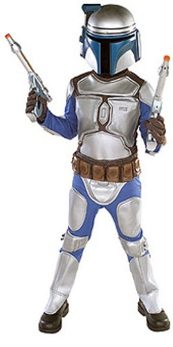 Star Wars Jango Fett Costumes (Star Wars Jango Fett Deluxe Child Costume (Medium))