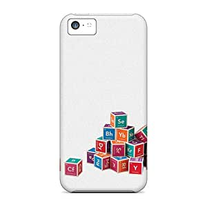 Hot Periodic Element Blocks First Grade Tpu Phone Case For Iphone 5c Case Cover
