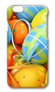 MOKSHOP Adorable Easter Egg Decorations Hard Case Protective Shell Cell Phone Cover For Apple Iphone 6 (4.7 Inch) - PC 3D