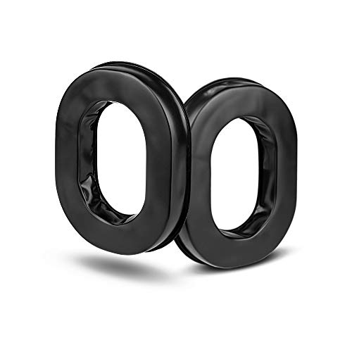 Replacement Gel Ear Seals, Ear Cups/Ear Cushions for Pilot Aviation Headsets, Compatible with David Clark, Rugged, Avcomm, Faro, ASA Telex 25xt Headsets, Sold in ()