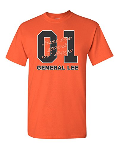 General Lee Car Men's T-Shirt - 4XL Orange (ATA1822)