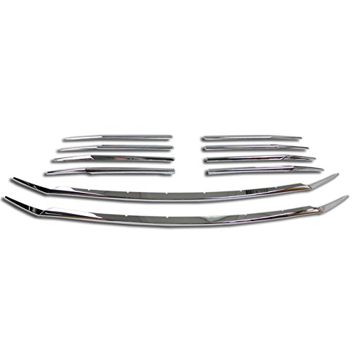 Toyota Chrome Grill - Beautost Fit For Toyota New Sienna 2018 2019 Front Grill Grille Cover Trim Trims Chrome