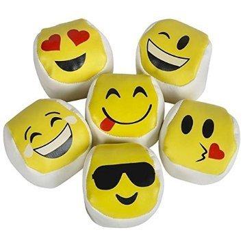 Amazon.com: Docena de (12) Emoji Hacky Sacos, Kick bolas ...
