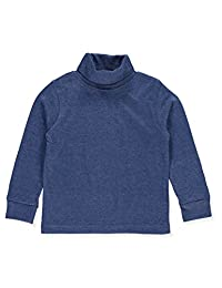 French Toast Baby Boys' L/S Basic Turtleneck - medium indigo, 24 months
