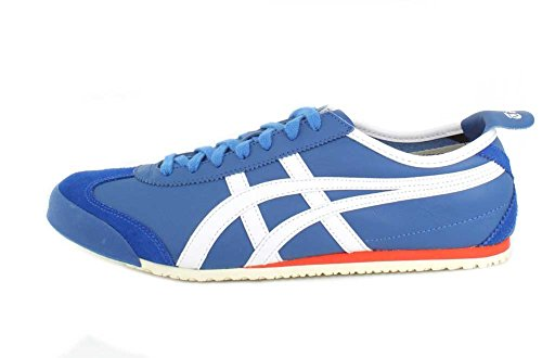 Onitsuka Tijger Heren Mexico 66 Fashion Sneaker Klassiek Blauw / Wit