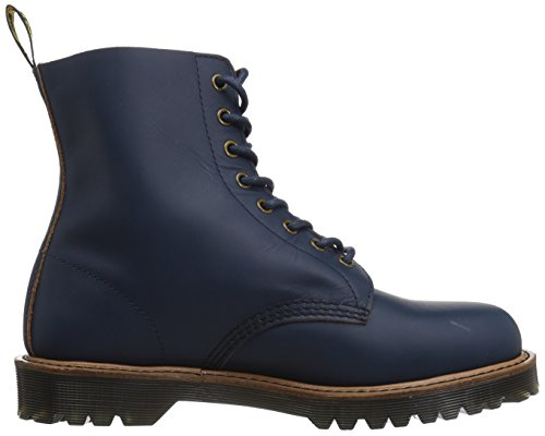 Dr.Martens Womens Pascal II 8-Eyelet Leather Boots Indigo