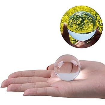 WINOMO 4cm Crystal Ball Photography Meditation Ball (Transparent white)