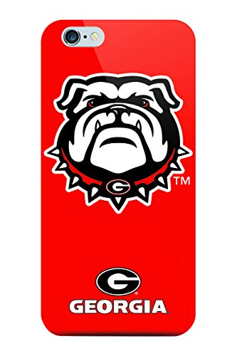 NCAA - iPhone 6/6s Oversized Logo Case - UNIVERSITY OF GEORGIA (Iphone 6 Cases Georgia)