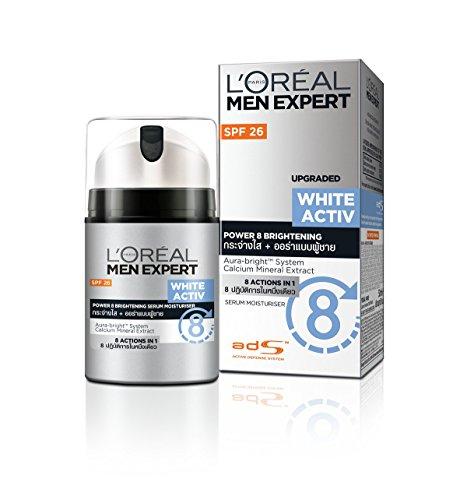 L'Oreal Men Expert White Activ Power 8 Brightening Serum Moisturizer 50ml