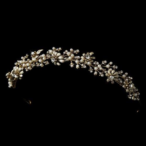 Juliette Romantic Wedding Bridal Tiara Headband