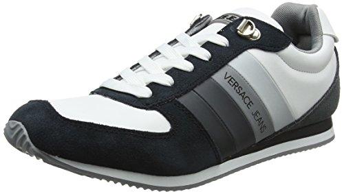 Versace Jeans Ee0yrbsa1_e70013, Sneaker Uomo Multicolore (Nero/Bianco Ottico)