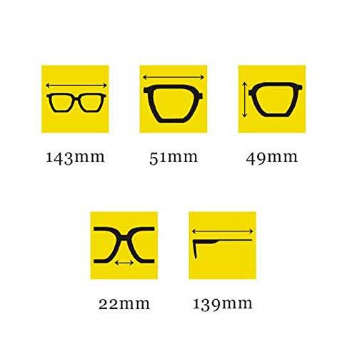 polarizadas D Gafas sol de de conducción Hombres Retro Running Aviador para Nuevas Moda Vogue UV 8r8q6