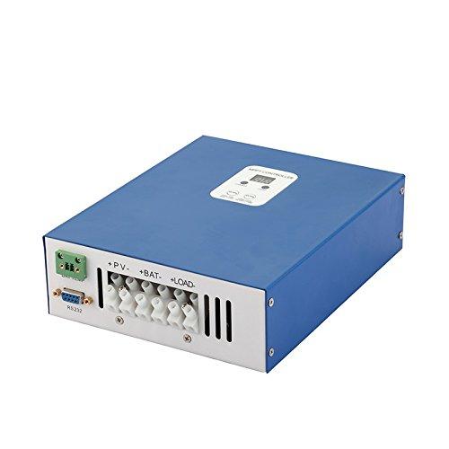 MPPT r/égulateur de charge solaire contr/ôleur r/égulateur de A 12/V 24/V 48/V 20/A /Écran