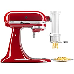 KitchenAid KSMPEXTA Gourmet Pasta Press Attachment with 6 Interchangeable Pasta Plates