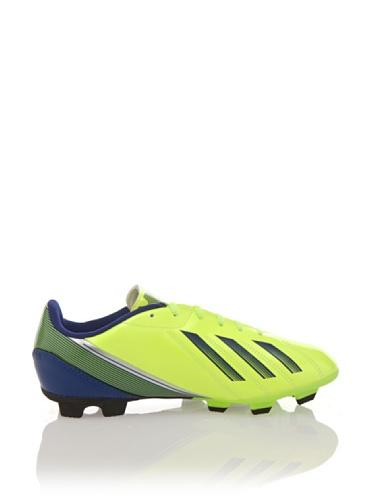 adidas Zapatillas Football F5 TRX FG J Amarillo / Azul