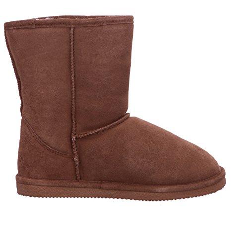 030 Berlin Stiefel mit Warmfutter Größe 40 Mehrfarbig (Chestnut)