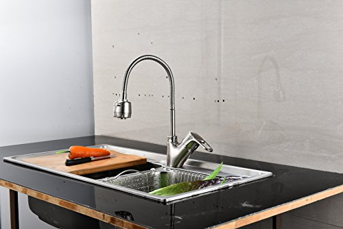 Dual Handle Laundry Faucet - 5