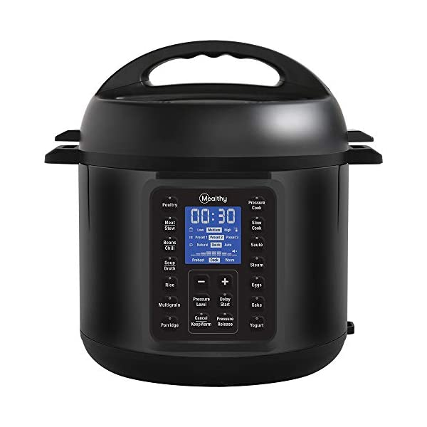 Mealthy MultiPot 9-in-1 Programmable Pressure Cooker with Stainless Steel Pot, Steamer Basket, Full Accessory Kit… 2