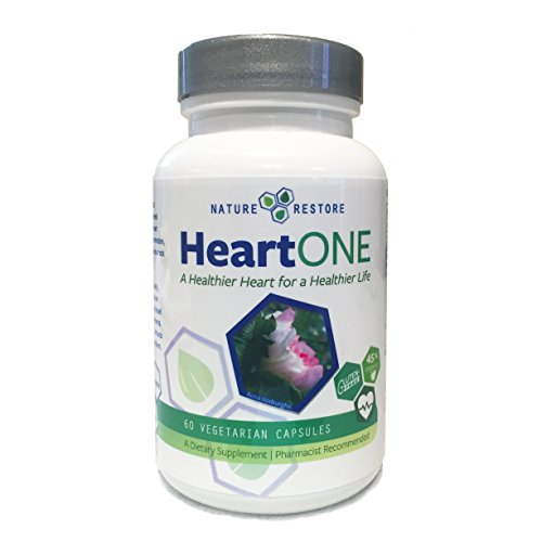 HeartOne-Complete-Heart-Health-Supplement-for-Lower-LDL-Cholesterol-and-Better-HDL-Cholesterol-60-capsules-Manufactured-in-USA-Non-GMO-and-Gluten-Free